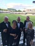 Metzger meets the WCEC prospective new members at annual event at Lord's